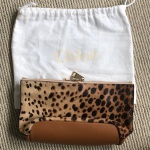 Chloe Animal / Leather Pouch